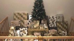 """""""Ευρηματικές ιδέες"""" για να προστατέψετε το Χριστουγενννιάτικο δέντρο από τα παιδιά"""