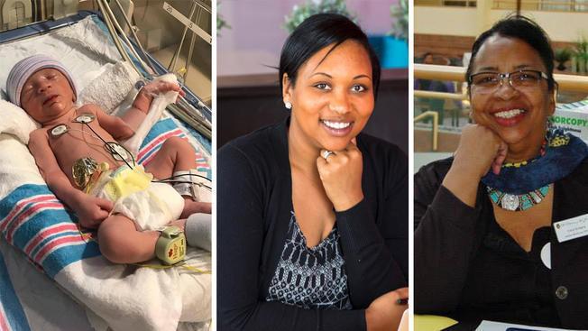 Το μωρό αυτό ήταν να γεννηθεί τα Χριστούγεννα αλλά γεννήθηκε ένα μήνα νωρίτερα κάνοντας ένα τεράστιο δώρο στη μαμά και τη γιαγιά του
