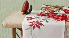 Ιδέες για υπέροχα χριστουγεννιάτικα τραπεζομάντιλα!