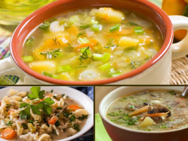 3 σούπες… βάλσαμο για τις ιώσεις