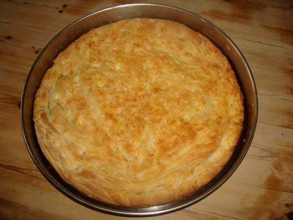 Τυροκουλούρι Θεσσαλίας ή πίτα του κάμπου : Παραδοσιακή τυρόπιτα με ρίζες απο τη Θεσσαλία. Δείτε φωτογραφίες και εκτέλεση βήμα βήμα