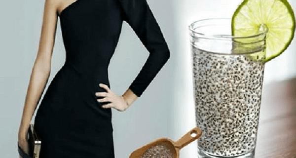 Αποκτήστε επίπεδη κοιλιά με λεμόνι και σπόρους chia!