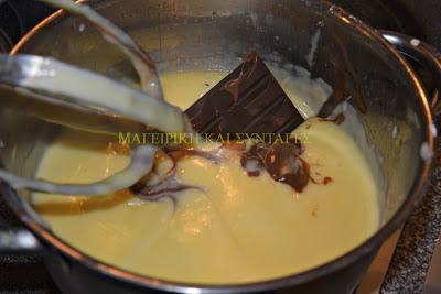 Υπέροχο Μπισκοτογλυκό με 2 κρέμες σοκολάτα & σαντιγί !!!