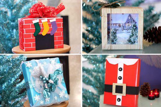 5 εκπληκτικοί τρόποι για να πάτε το περιτύλιγμα των δώρων σε άλλο επίπεδο