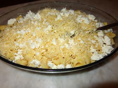 Τορτελίνια στο φούρνο με διάφορα τυριά!!!