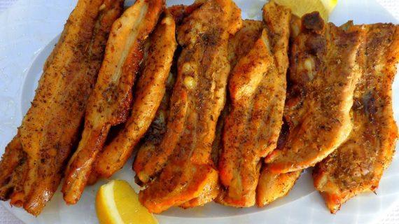 Χοίρινες ζουμερές πανσετες μαριναρισμένες στο φούρνο