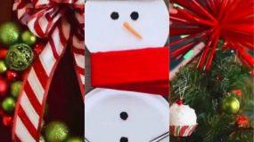 5 τέλειες ιδέες για χριστουγεννιάτικη διακόσμηση με καλαμάκια, μια κρεμάστρα και άλλα υλικά που όλες έχετε στο σπίτι σας! (vid)