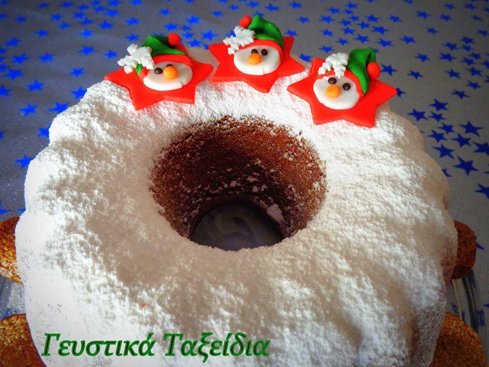 Χριστουγεννιάτικο κέικ με κολοκύθα και ουίσκι