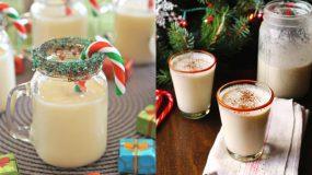 Συνταγή για eggnog το παραδοσιακό Χριστουγεννιάτικο πότο.