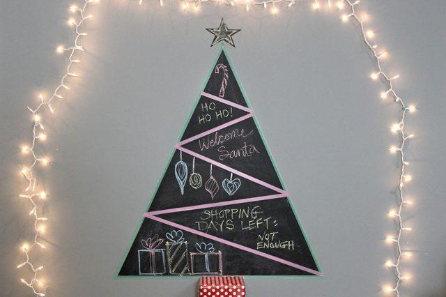 5 πρωτότυπες ιδέες για το χριστουγεννιάτικο δέντρο!