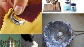 7 τεχνάσματα για να καθαρίσετε τα ασημικά σας στο σπίτι