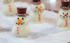 Χριστουγεννιάτικοι  χιονάνθρωποι από τρουφάκια!