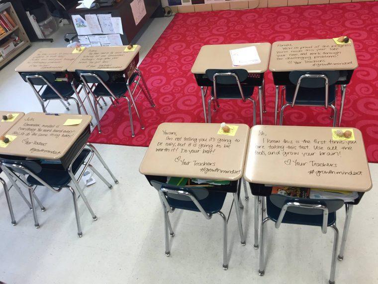 Ο φανταστικός λόγος που αυτή η δασκάλα έγραψε πάνω στα θρανία των μαθητών της