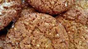 Μπισκότα με Σουσάμι-Ταχίνι-& Καστανή Ζάχαρη !!!