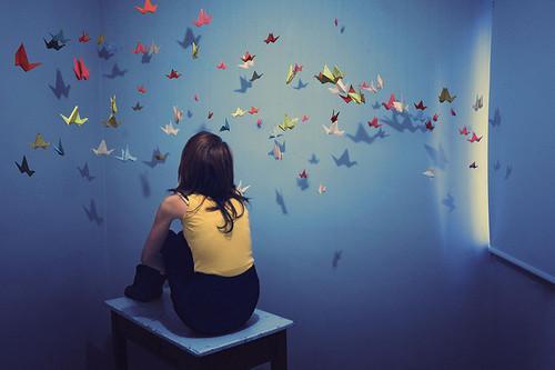 """Οι ονειροπολήσεις που με κράτησαν """"ζωντανή""""..."""