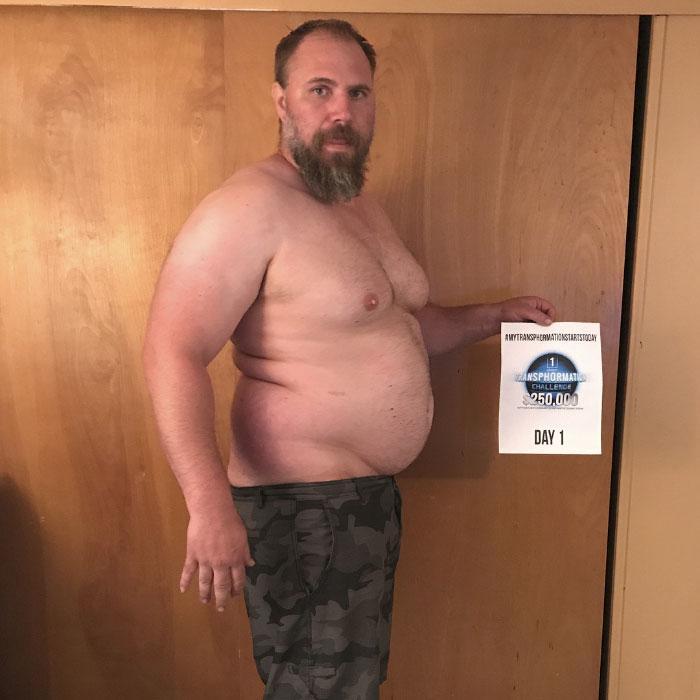 O πατέρας αυτός κατάφερε και έχασε 38 κιλά και έγινε φέτες για έναν απίθανο λόγο!