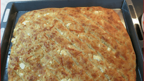 Φτιάξτε φανταστικές Σιμιγδαλόπιτες!! Στο φούρνο ή στο τηγάνι είναι το ίδιο νόστιμες!!
