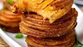 Ένα σούπερ σνακ με πατάτες! Η γεύση του είναι απίστευτη