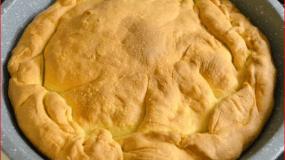 Φύλλο γιαουρτιού για πίτες (με έναν διαφορετικό τρόπο ανοίγματος)