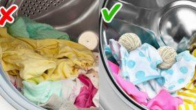 Η μπουγάδα σας ποτέ ξανά δεν θα είναι ίδια! Δείτε 12 εύκολα κολπα που θα σας διευκολύνουν την ζωή