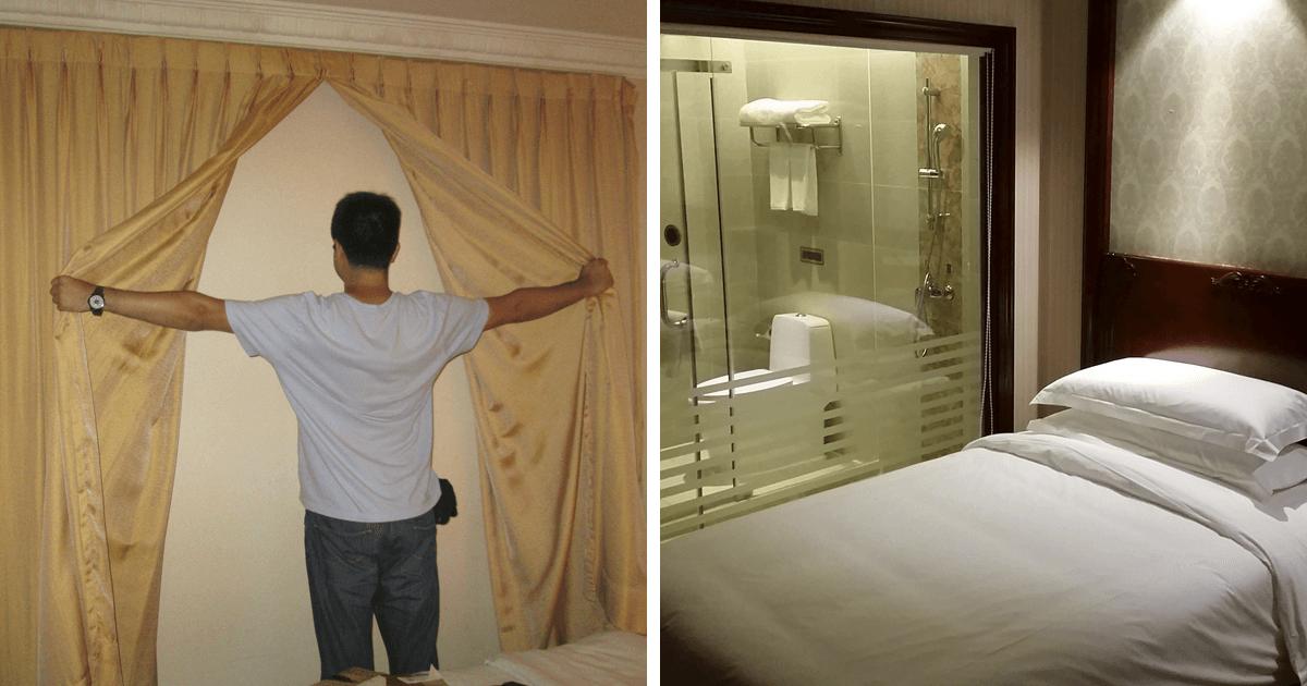 40 ξενοδοχεία που φαίνονται διαφορετικά από αυτό που δείχνουν στις φωτογραφίες