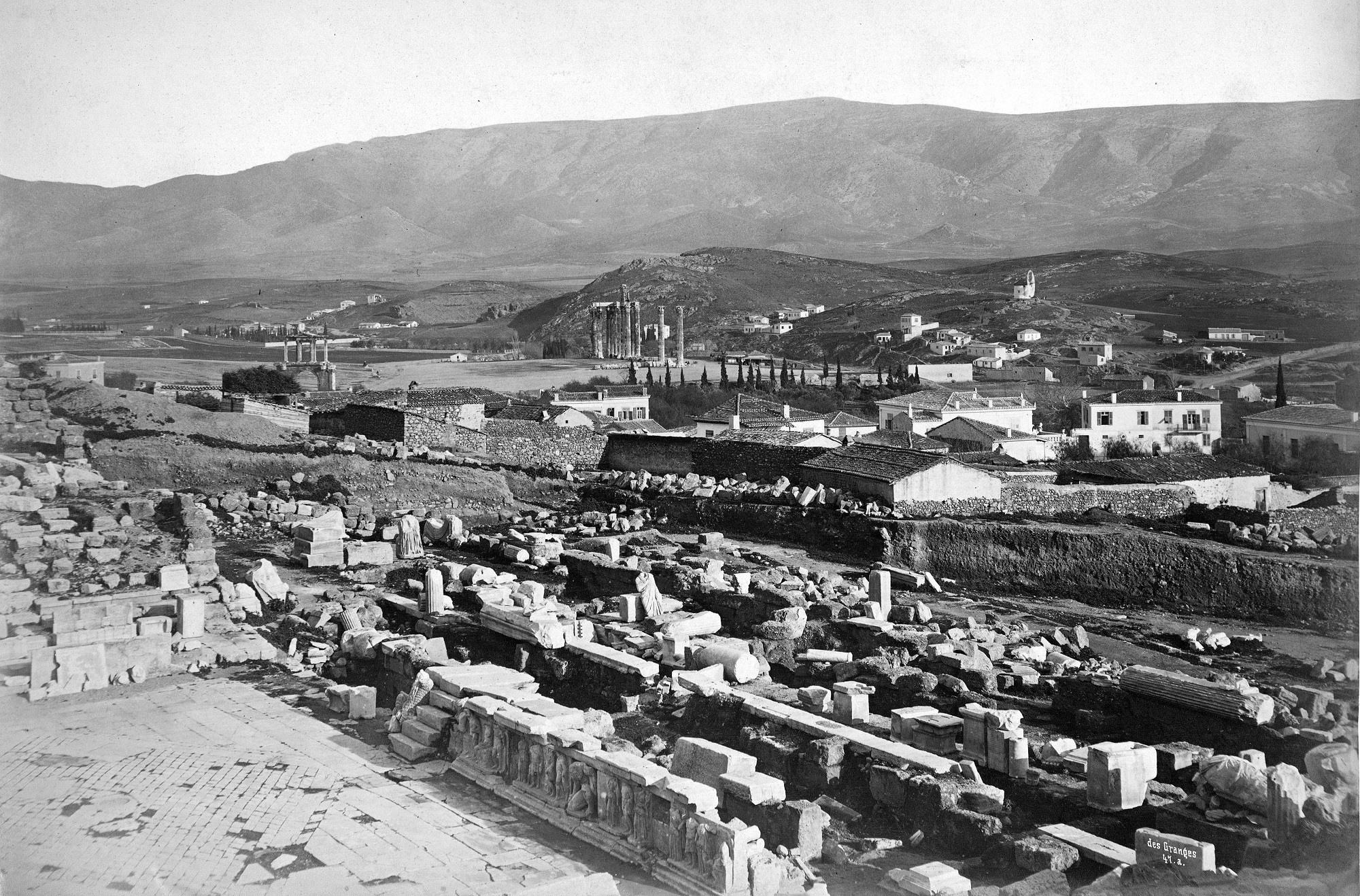 'Ενα ταξίδι πολύ πίσω στο χρόνο! 45 Πολύ σπάνιες φωτογραφίες της Αθήνας πριν το 1900