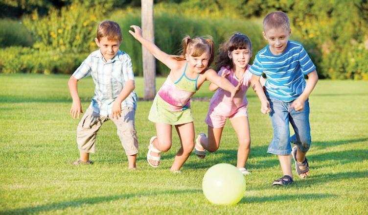 Η σωματική δραστηριότητα είναι απαραίτητη για τους πνεύμονες των παιδιών