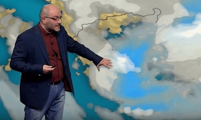 Χαλάει πάλι ο καιρός- Ο Αρναούτογλου προειδοποιεί για 14,15/2: Πού θα χτυπήσει το κύμα κακοκαιρίας [video]