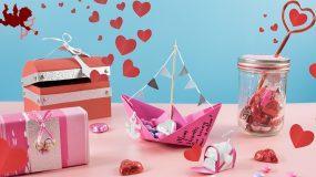 Φτιάξτε πανέμορφα κουτάκια για σοκολάτακια για την ημέρα του Αγίου Βαλεντίνου για να τα χαρίσετε σε ένα αγαπημένο σας πρόσωπο