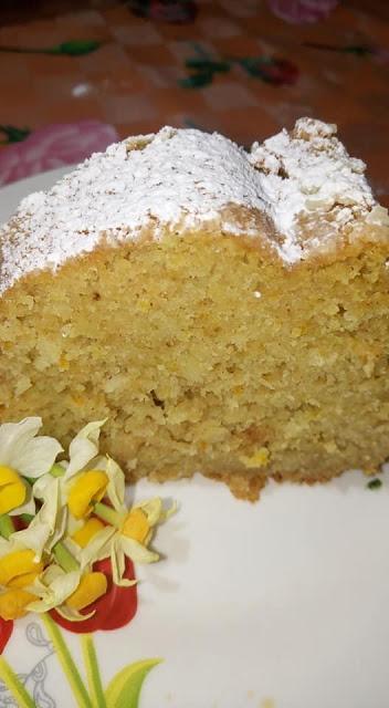 Κέικ Μήλου νηστίσιμο με άρωμα κανέλας!!!