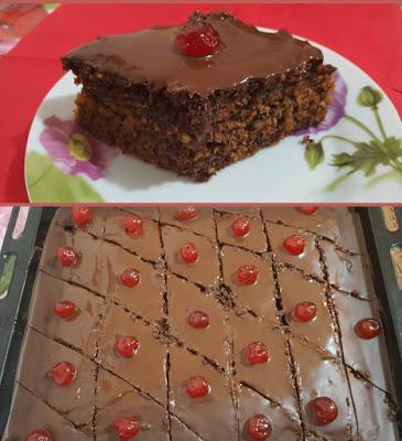 Πεντανόστιμη, αφράτη Νηστίσιμη Καρυδόπιτα με σοκολάτα !!!