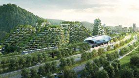 Η Κίνα κατασκευάζει την πρώτη πόλη-δάσος για να καταπολεμήσει την υπερθέρμανση του πλανήτη