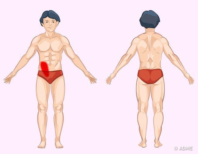 Αν νιώθετε πόνο σε κάποιο από αυτά τα εννέα σημεία στο σώμα σας τότε ένα εσωτερικό σας όργανο παρουσιάζει πρόβλημα υγείας –
