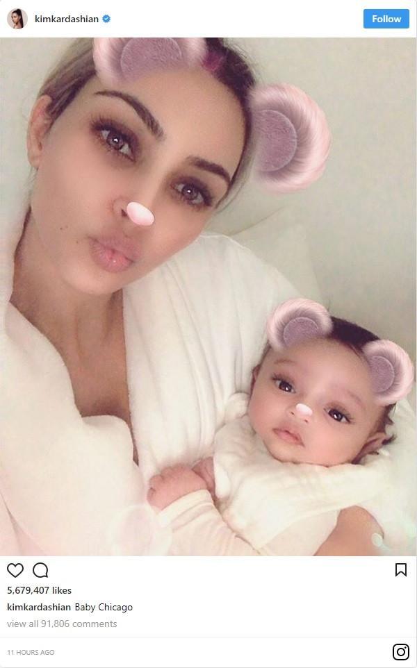 Kim Kardashian: Δείτε για πρώτη φορά το πρόσωπο της νεογέννητης κόρης της!Είναι μια κούκλα!