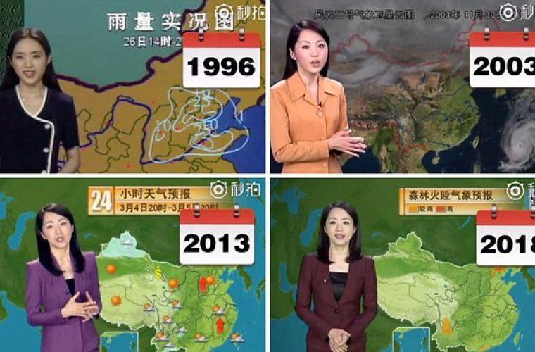 Παραμένει αγέραστη εδώ και 22 χρόνια: Η Κινέζα παρουσιάστρια που κάνει τον κόσμο να απορεί και έγινε viral!