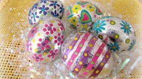 Διακοσμήστε τα αυγά σας εύκολα και οικονομικά με αλουμινόχαρτο!