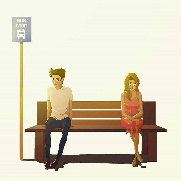 Ζωγράφος απεικονίζει συναισθήματα που θα φέρουν αναμνήσεις σε όποιον έχει ερωτευτεί