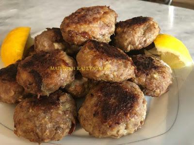 Ζουμερά μπιφτέκια ή Κεφτεδάκια στο φούρνο στην Λαδόκολλα !!!