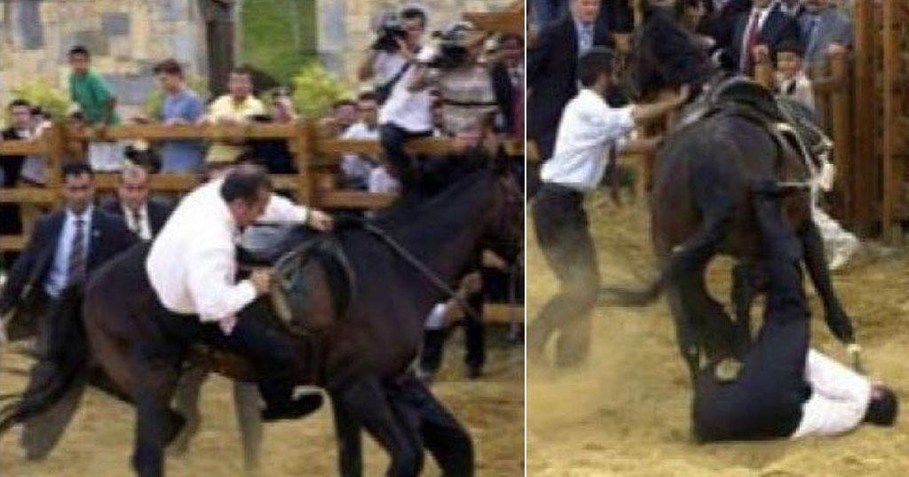 Όταν ο Ερντογάν πήγε να μιμηθεί τον Πούτιν αλλά το άλογο δεν του έκανε την χάρη!