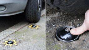 Πρωτότυπη εφεύρεση θα τρυπάει τα λάστιχα όσων σταθμεύουν τα αυτοκίνητά τους πάνω στο πεζοδρόμιο