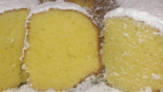 Αφράτο αρωματικό κέικ λεμονιού!