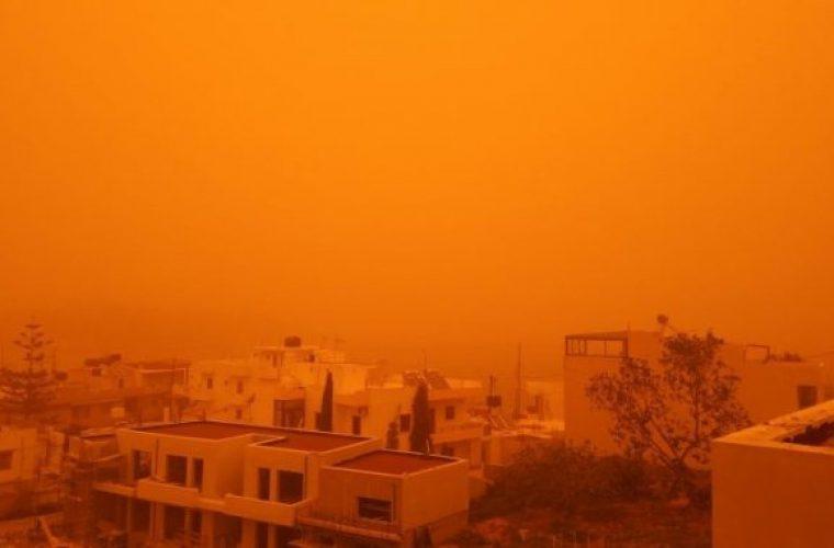 Η αφρικανική σκόνη ήρθε για να μείνει- Ανησυχία για τις επιπτώσεις στην υγεία