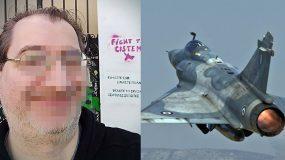 Σάλο έχουν προκαλέσει οι αναρτήσεις Έλληνα, στις οποίες βρίζει και κοροϊδεύει τον ήρωα πιλότο