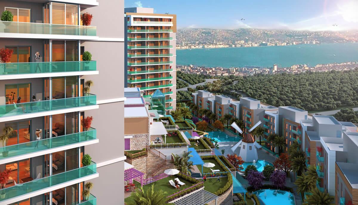 Οι Τούρκοι δημιούργησαν νέα γειτονιά με πολυκατοικίες στην Σμύρνη και την ονομάζουν Σαντορίνη!