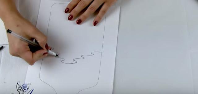 ΝΤΕΚΟΥΠΑΖ Το Εφέ Της Κουρτίνας! Αναλυτικές οδηγίες για να το φτιάξετε εύκολα μόνοι σας και Βίντεο