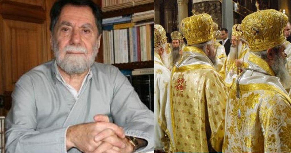 Ο Πατέρας Φιλόθεος Φάρος αναφέρει:«Τι σχέση έχει ο κλήρος με τα χρυσαφικά; Ο Χριστός κυκλοφορούσε ξιπόλητος»