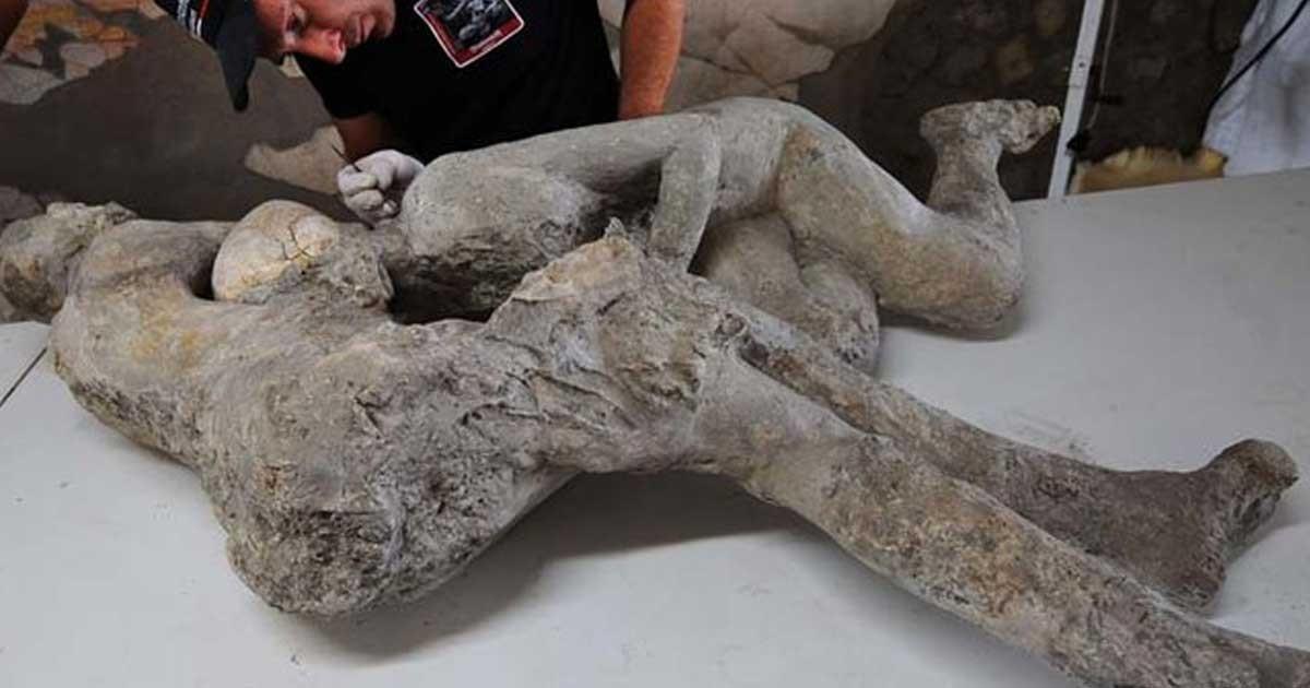 Αυτό που αποκάλυψαν οι αρχαιολόγοι για την Πομπηία είναι κάτι πολύ τραγικό...