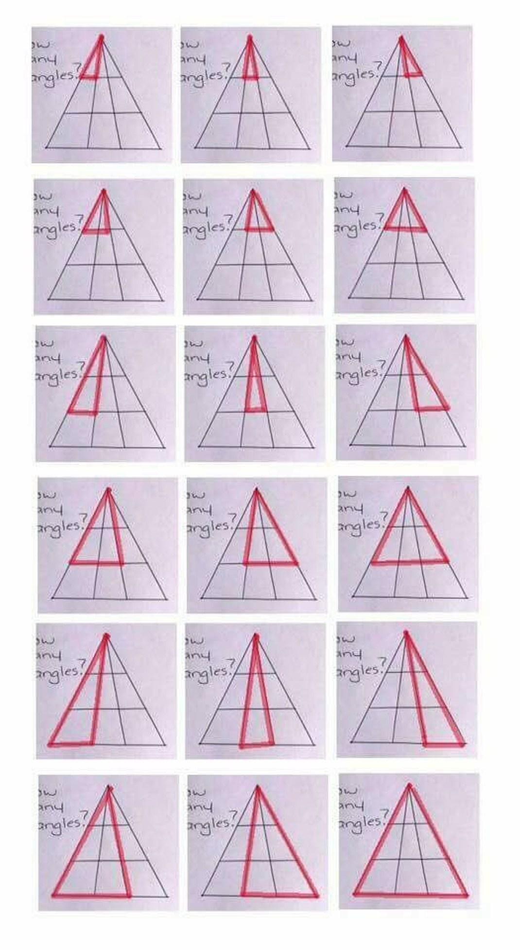 Ο γρίφος που έγινε viral! Πόσα τρίγωνα βλέπεις στην εικόνα;