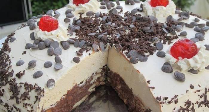 Διαφορετική τούρτα κατσαρόλας Σοκολατένια απόλαυση με μπισκότα χωρίς παντεσπάνι...!!!