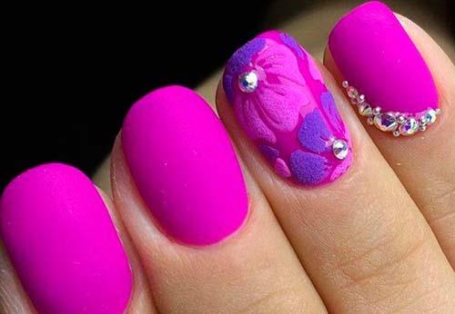 29+1 εντυπωσιακά σχέδια για φούξια νύχια!